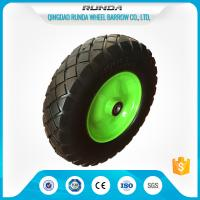 China Heavy Duty Trolley Pneumatic Wheels Ubber Casing Ball Bearing 150-300kg Loading wholesale