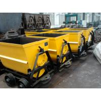 China 600mm Guage Bucket Tipping Car Manufacturer wholesale