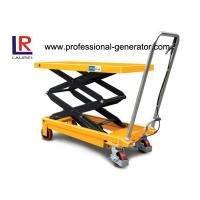 China Aerial Work Platform Double Scissor High Lift Lift Table For High Place Operation wholesale