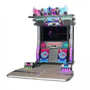 China pump it up dance machine 2 players dancing game machine wholesale