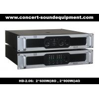 Buy cheap 8Ω Stereo Output 2 X 600W Analog Audio Amplifier For Living Event / Concert from wholesalers