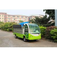 Buy cheap Green Color Hotel Or Park Electric Luggage Cart With Comfortable Chair from wholesalers