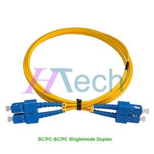 China Optical Fiber Patch Cord SC/UPC-SC/UPC Singlemode Duplex on sale