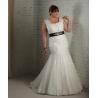 China Mermaid Plus Size Wedding Gown wholesale
