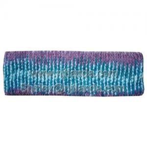 China 100% chenille knitted headband wholesale