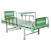 China Double Crank Adjustable Hospital Beds with Aluminum alloy head & foot board wholesale