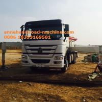 Buy cheap Manual And Remote Control Concrete Mixing Equipment 38m / 38m Concrete Boom Pump from wholesalers