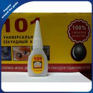 China Cyanoacrylate Instant Super Glue 101 Wood Glue For Russian Market wholesale