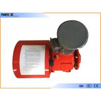 China Red Painting Cable Reeling Drum With Motor Horizontal/ Vertical Installation Type wholesale