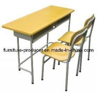 China School Furniture / School Desk and Chair Set (JS-1) on sale