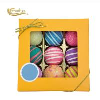 China Customized Cool Bubble Bath Bombs , Round Bath Bombs With Essential Oil wholesale