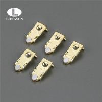 Buy cheap Electrical Contact Assemblies Stamped Parts with Silver Tips Onlay for Relay from wholesalers