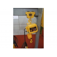 China Light Weight Trolley Type Motorized Electric Chain Hoist on sale