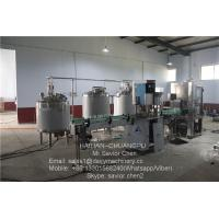 China 1000 Liter Milking Machine Spare Parts Milk Pasteurization Machine For Milk Factory wholesale