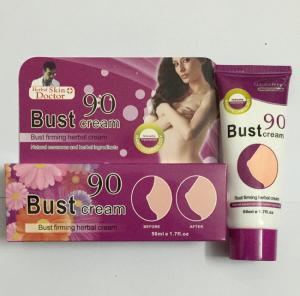 China 50ML 90 bust cream bust firming herbal cream breast enhancement cream wholesale