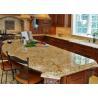 China Light Beige Block Granite Stone Kitchen Countertops / Sparkly Granite Worktops wholesale