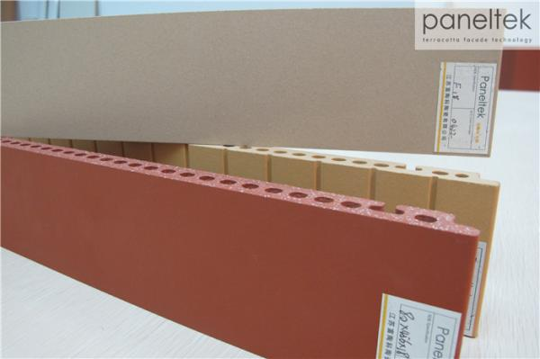 Quality Color combination Terracotta Facade Panels For Building Exterior wall Decoration for sale