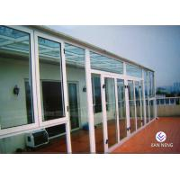China Fireproof Thermal - Break Aluminium Windows And Doors With Clear Glass wholesale
