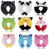 China Plush U shape Car Seat Travel Neck Pillow And Cushion , Animal Plush Cushion  For Nursing wholesale