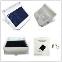 Buy cheap Solar sensor clip light,outdoor security solar lights,automatic work,patent design from wholesalers