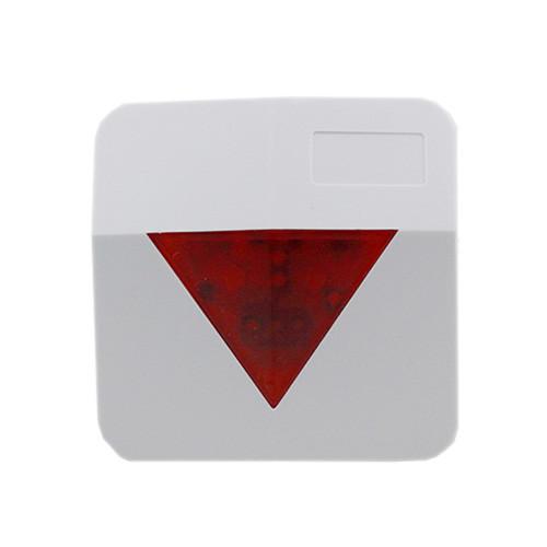 Quality Sirène blanche de système d'alarme de couleur de lumière de stroboscope de LED pour le système de garde territoriale for sale
