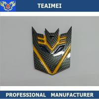 China Decoration Personalized Car Emblems Autobot Decal Sticker ABS Plastic Badge wholesale