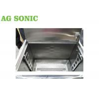 China BBQ Grill Plate Oil Carbon Degrease Clean Tank 258L With Lockable Castor Wheels wholesale
