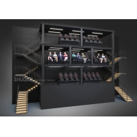 China Suspended Dome Theater with 13 Meters Edgeless Screen and 20 Motion Seats wholesale