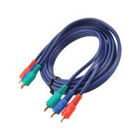 China 3RCA male to 3RCA male cable with golden plated wholesale