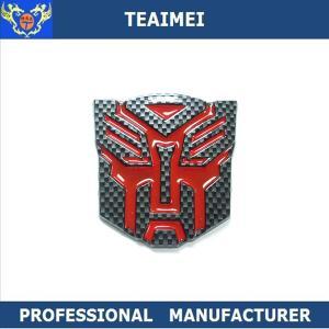 China Transformers Custom Car Emblems Adhesive Decoration Car Badges wholesale