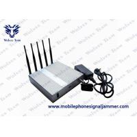 China WiFi 3G 4G Cell Phone Scrambler 2400 - 2500MHz Compact Design CE Certificated wholesale
