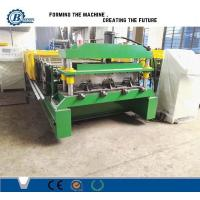 China Great Building Material High Speed Steel Profile Deck Floor Cold Roll Forming Machine wholesale