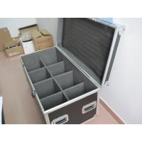 China Customized 8 In 1 Led Par Lighting Flight Case With Industrial Grade Rubber Feet wholesale