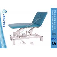 China Fold Up Height Adjustable Electric Medical Massage Table Two Functions wholesale