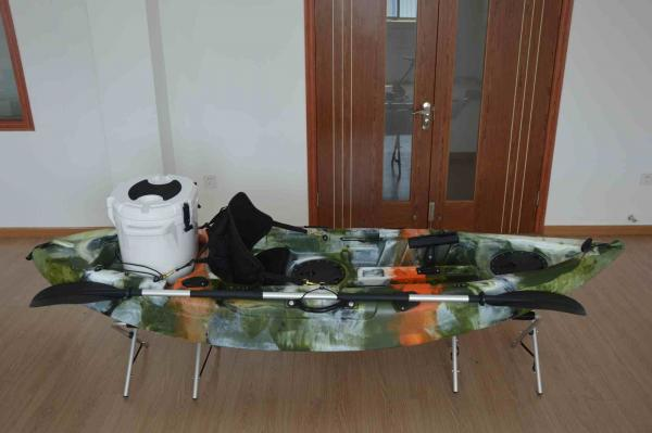 Quality Customized Color Sit On Top Kayak Fishing Boats  275L*78W*40Hcm Normal Backseat for sale