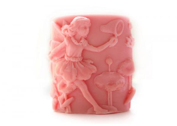 Quality Handmade Food Safe Silicone Candle Molds , Angel Shaped Silicone Soap Molds for sale