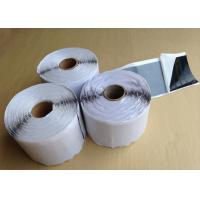 China White Self Adhesive Butyl Sealing Tape For Insulation / Anti Vibration 2mm wholesale