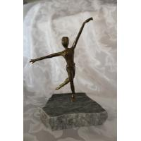 China Western Fine Art Deco Bronze Dancer Statue wholesale