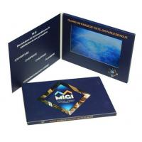 China High End 7 Inch Lcd Video Brochure , Custom Gift Greeting Cards 800*480 Pixels Resolution wholesale