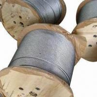 China Round Strand Steel Rope with Quality Carbon Steel wholesale