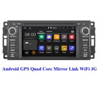 China 2008+ OBD Chrysler DVD Player 3G WiFi Chrysler Town And Country Navigation System wholesale