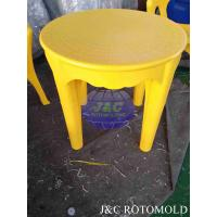 China Rotational Moulding Products Round Plastic Table Made By Die Casting Rotomolding Mold wholesale