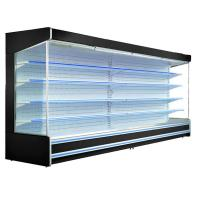 China Fan Cooling Remote System Multideck Open Chiller With 10 Meters Copper Tube on sale