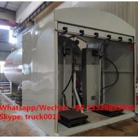 China 2019s new 5tons Skid LPG Filling Plant for home cylinders for sale,skid-mounted lpg gas tank with electronic scales wholesale