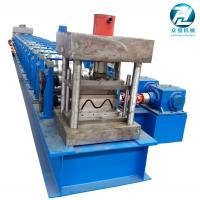 Buy cheap China Automatic Highway Guardrail Roll Forming Machine 2 / 3 Waves from wholesalers