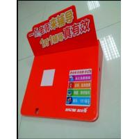 China Glasses / Cosmetic Product Display Stands , Small Colorful Acrylic Brochure Holders wholesale