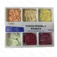 China Disposable Wooden Wedges Dental , Colorful Fixing Tooth Wedges In Dentistry wholesale
