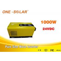 China 1000W 24V Low  Frequency Solar Powered Inverter With AC Charger wholesale