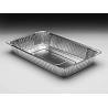 China Silver Aluminum Foil Baking Pans Food Freezing Deep Rectangle Shape wholesale