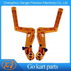 China CNC Billet Aluminum racing go kart brake pedal and accelerator Pedal on sale